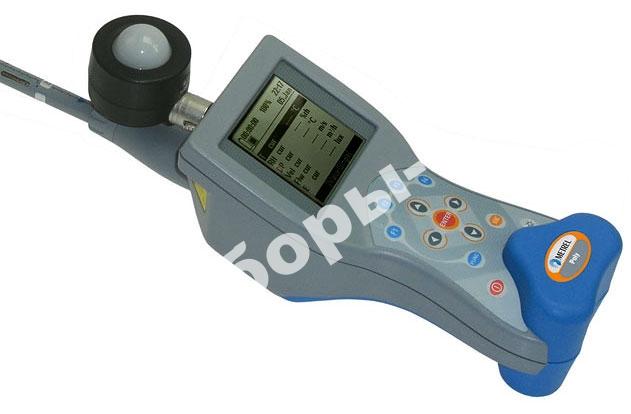 MI 6401 ST Poly - измеритель температуры воздуха, скорости воздушного потока, влажности, освещенности и яркости (стандартный комплект)